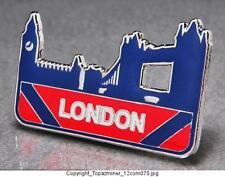 OLYMPIC PINS 2012 LONDON ENGLAND UK LONDON BRIDGE BIG BEN CUT OUT