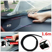 Rubber 1.6m Soundproof Dustproof Sealing Strip for Auto Car Dashboard Windshield