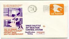 1979 Space Shuttle Aft Reaction Control System Primary Thrusters Qualify First
