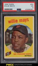1959 Topps Willie Mays #50 PSA 3 VG