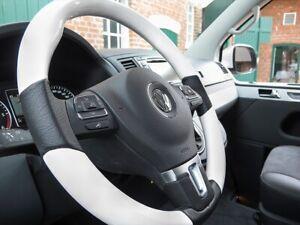 "VW T5 Facelift GP 2009-2015 Exklusives Lenkrad im Design ""Klavierlack Weiß"""