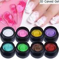 3D Carved UV Gel Polish Nail Art Modelling DIY Carving  LILYCUTE 5ml