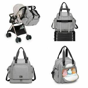 Multi Way Mummy Hospital Baby Nappy Travel Shoulder Handbag Changing Bag