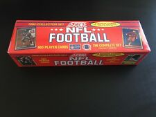 1990 Score Football Factory Set - 1-665 Card Set, SEALED