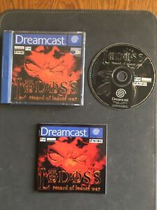 Lodoss Record Of Lodoss War. (Sega Dreamcast, 2000) - European Version.Full set.