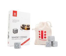 Teroforma Whisky Stones 9 set Rocks whiskey Soapstone beverage cubes drink gift