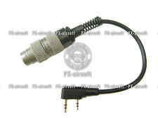 PRC U-328 to Kenwood Baofeng Radio Adapter (mbitr PRC-148 PRC-152 PRC-117G)