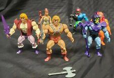 MOTU Vintage Masters Of The Universe Lot! He-Man,Teela,Prince Adam, and villains