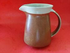 RARE Vintage CERVAL SIAL STONEWARE BROWN PITCHER CANADA MID CENTURY MODERN