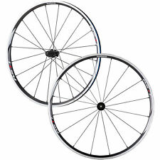 Shimano RS11 Road Bike Wheels (PAIR) Front + Rear (BLACK) Wheelset 9 10 11s NEW