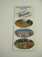 Vintage 1967 Chevron San Fernando Valley California Gas Station Road Map~Box X
