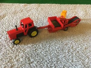 Unbranded Tractor And Harvester