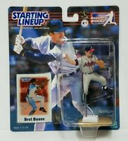 BRET BOONE Atlanta Braves Kenner Starting Lineup MLB SLU 2000 Figure & Card NEW