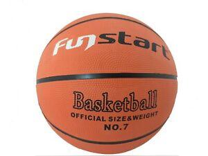 Fun Start Rubber No.7 Basketball