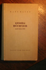 Hans Mayer  Georg Büchner und seine Zeit   signiert    Verlag Volk und Welt