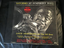 Louis Armstrong Satchmo At Symphony Hall 2 LP Box Record 1951 US Mono DX-108