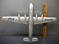 VINTAGE MARX DC 4 PAN AMERICAN WORLD AIRWAYS CLIPPER AIRPLANE PRESSED STEEL TOY