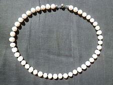 Halsketten und Anhänger im Collier-Stil mit echten Süßwasser-Perlen aus Zucht