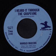 HAROLD MABERN: I Heard It Thru The Grapevine / A Few Miles From Memphis 45