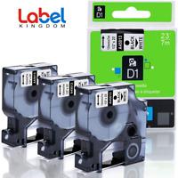 3PK Refill Replace Dymo D1 45013 S0720530 LabelManager PnP 260P 160 Label Maker