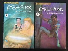 Cyberpunk the Seraphim Files #s 1 & 2 (Innovation, 1990) Complete Series - NM