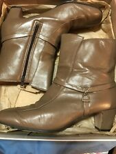 """Enna Jetticks Women's Taupe Ankle Boots, """"Heidi"""" Size 8.5M"""