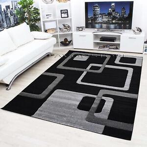 Modern Rug Geometric Design Small Extra Large Non Slip Rugs Floor Carpet Runners