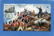 Sc #4952 Battle of New Orleans S&T Cachets First Day Cover