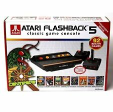 ATARI FLASHBACK 5 RETRO GAME CONSOLE 92 Built In Games 2 Wireless Controllers