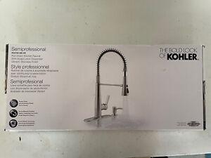 Kohler R22745-SD-VS Semiprofessional Kitchen Faucet with Soap Dispenser