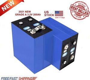 4pcs 3.2V200Ah Lithium iron phosphate cell RV Solar Energy Storage battery Pack