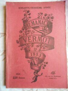 ALMANACH VERMOT 1953