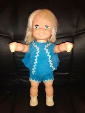 "Vintage 1970 15"" Jumpsy Doll Blonde In Original Outfit By Remco"