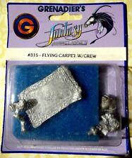 VintageGrenadier 1985 Flying Carpet w/crewAND CROSSBOW Fantasy Classics 315