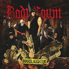 BODY COUNT - MANSLAUGHTER (CD) Sealed