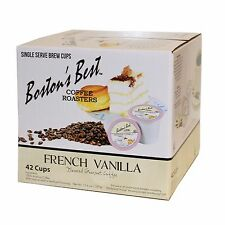 Boston's Best Single Serve K-Cup Coffee, French Vanilla, 42 Count