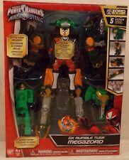 Power Rangers Ninja Steel Deluxe DX Rumble Tusk Megazord 5 Zords Combine! MISB