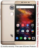 "Letv LeEco Le S3 x626 5.5"" FHD Screen 16MP Camera Deca Core 4 GB RAM 32GB NEW"