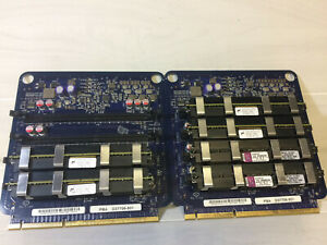 Retro A1186 Apple Mac Pro PBA D37706-501 Ram Riser Boards x 2 With 12GB Memory.
