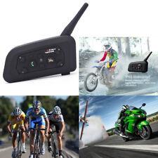 BT Motorbike Intercom 1200m Bluetooth Motorcycle Helmet Headsets interphone Pop