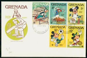 Mayfairstamps GRENADA FDC 1979 COVER DISNEY GOOFY COMBO wwi81501