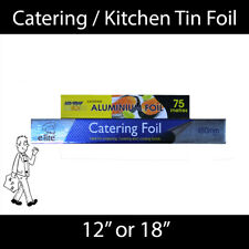 More details for catering / kitchen aluminium tin foil 300mm or 450mm wide - 75m long!!