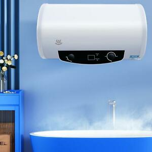 50L Electric Hot Water Heater Heat Tank Bathroom Shower Power Saving 13 Gallon