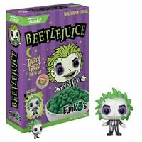 Beetlejuice Funko's Multigrain Cereal w/ Exclusive Pocket Pop! Vinyl Figure