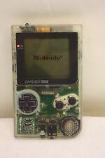 Consola Nintendo Game Boy bolsillo transparente MGB-001 & Juego Super 64 en 1 (M511)
