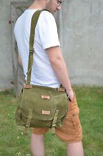 Vintage Military Shoulder Bag, Army Messenger Bag, Unisex Military Haversack