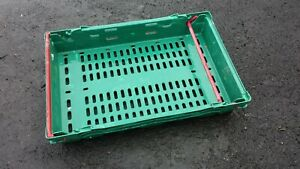 Bale Arm Crate 600x400x100 Plastic Containers  (Pack of 14)