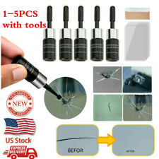 1/2/5Pcs Automotive Glass Nano Repair Fluid Car Window Crack Chip Repair Tools