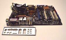 Asus p5w54 WS Pro Motherboard Sockel 775 Lüfter gekühlt Kühlkörper, I/O Shield