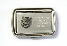Tiger Face Tobacco Hand Rolling Cigarette Tin Free Engraving Safari Gift